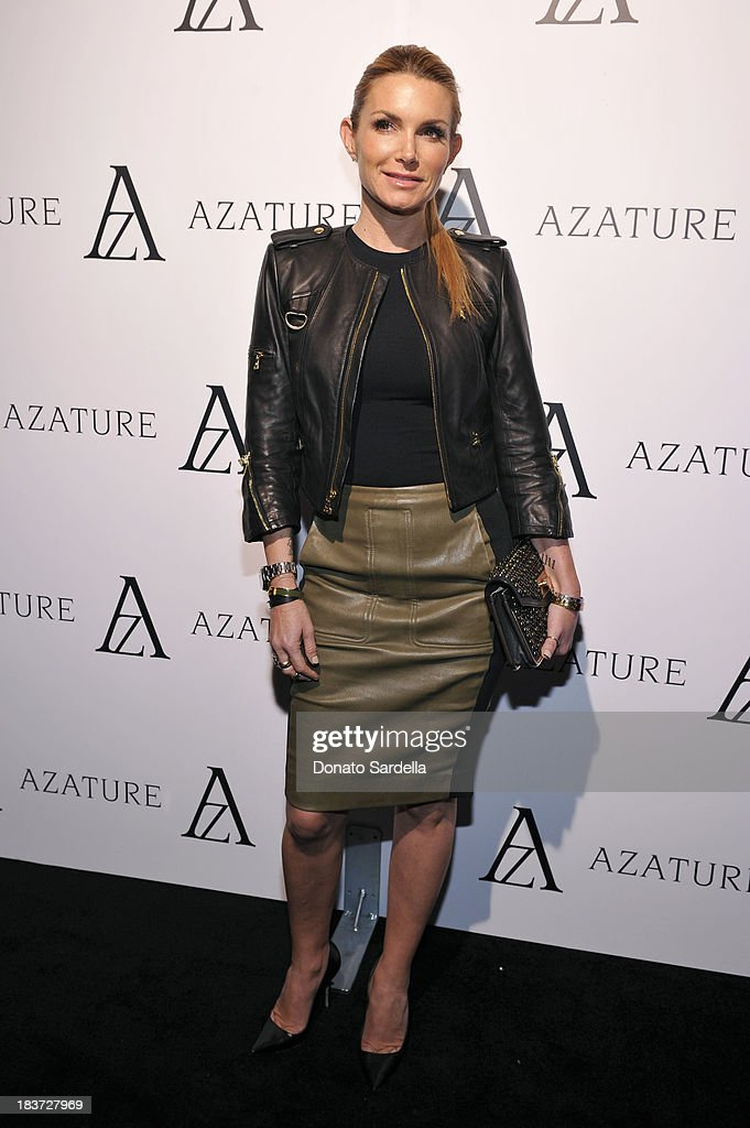 Eden Sassoon attends The Black Diamond Affair with A Z A T U R E at Sunset Tower on October 8, 2013 in West Hollywood, California.
