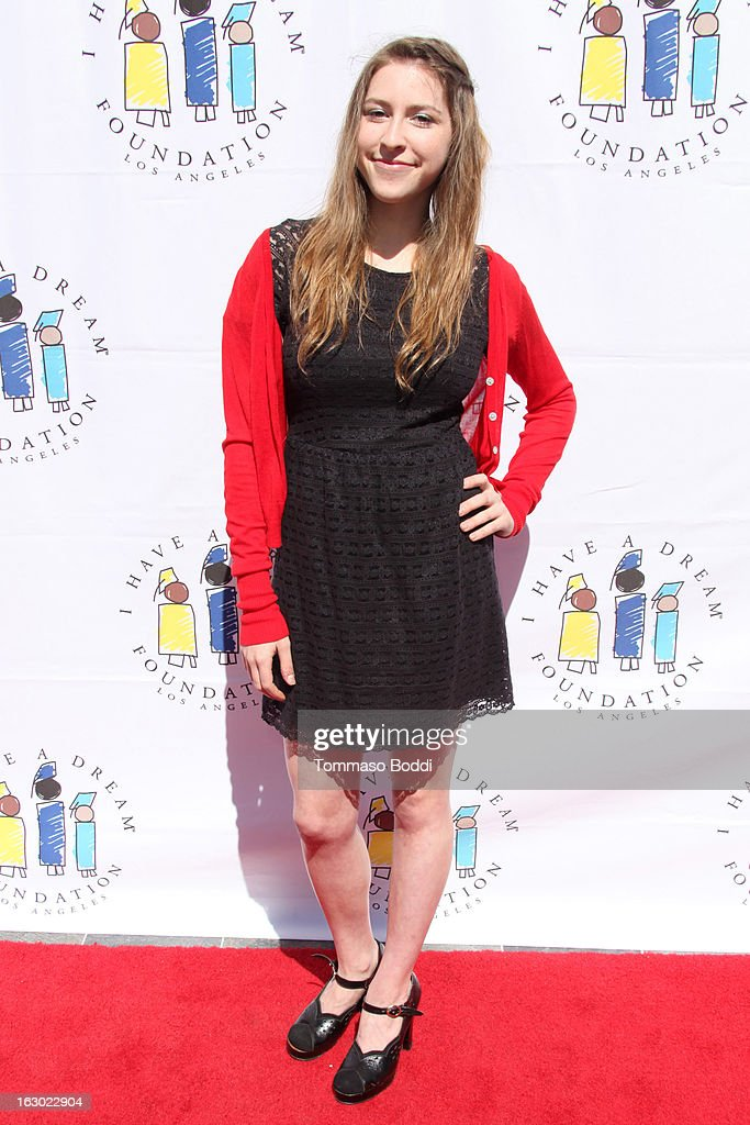Eden Sher attends the 'I Have A Dream' Foundation's 15th annual Los Angeles dreamer brunch held at the Skirball Cultural Center on March 3, 2013 in Los Angeles, California.