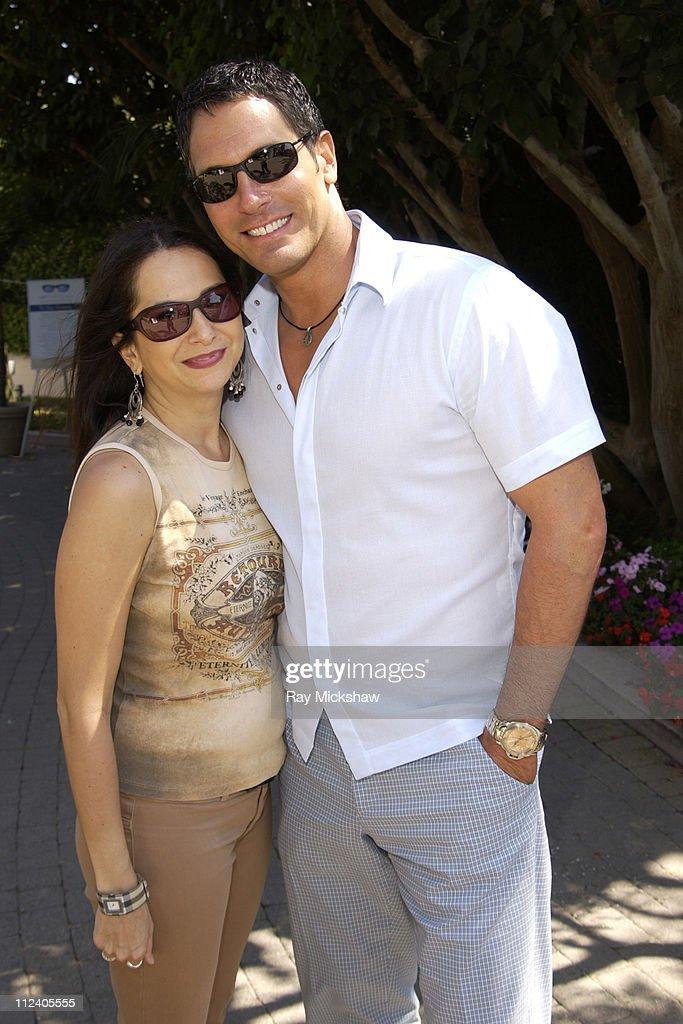 Eden Wexler and Don Diamont wearing Carrera Huron Sunglasses