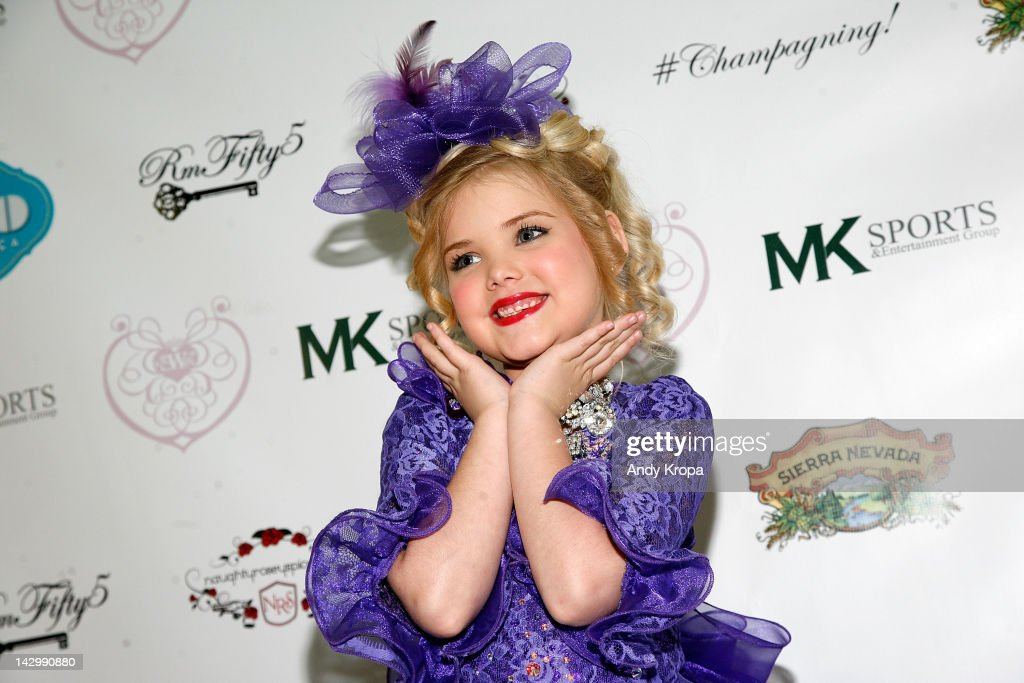 Eden Wood attends the 'Eden's World' premiere party at Room Fifty5 at Dream Midtown on April 16 2012 in New York City