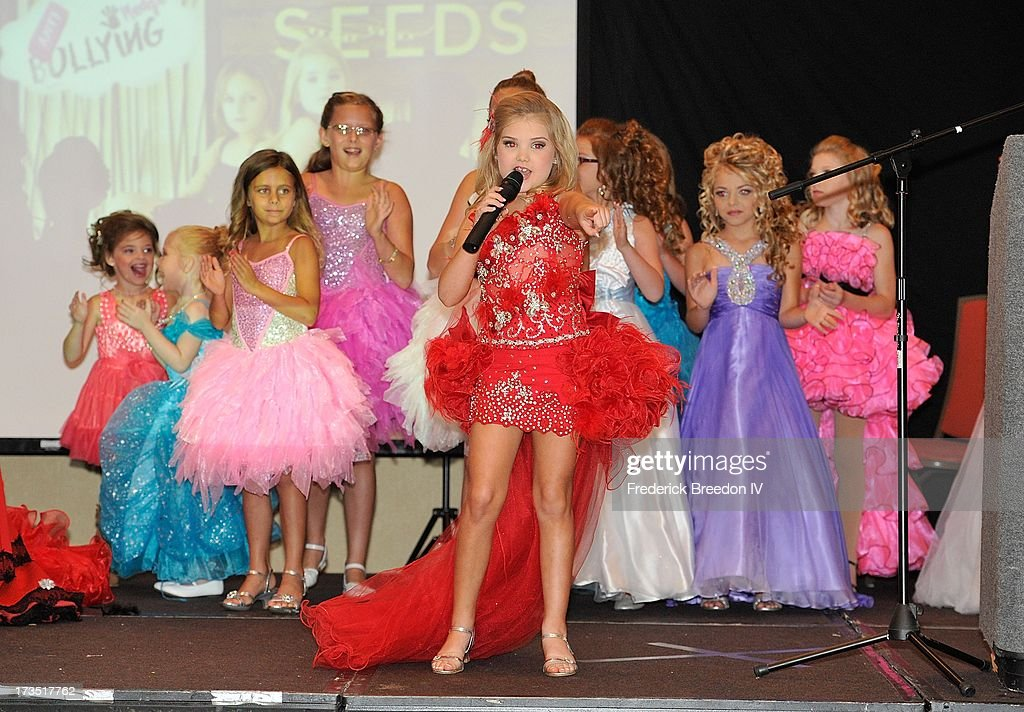 Eden Wood performs at the First Annual Youth Excellence Awards at Holiday Inn Nashville Opryland Airport on July 15 2013 in Nashville Tennessee