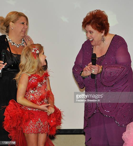 Eden Wood performs with Lu Lu Roman at the First Annual Youth Excellence Awards at Holiday Inn Nashville Opryland Airport on July 15 2013 in...
