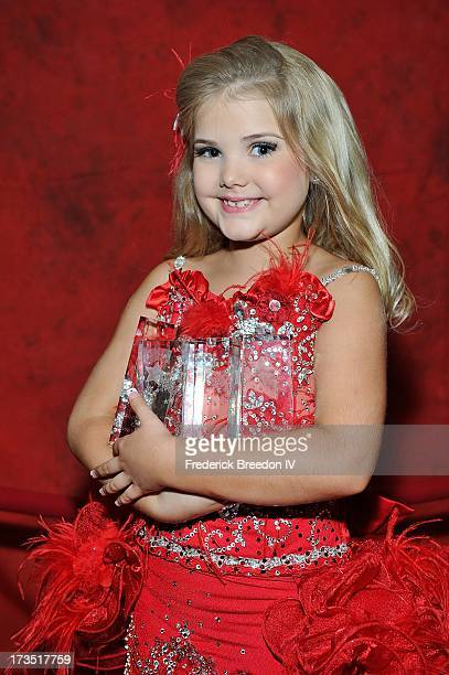 Eden Wood poses with four of her eight Youth Excellence Awards at the First Annual Youth Excellence Awards at Holiday Inn Nashville Opryland Airport...