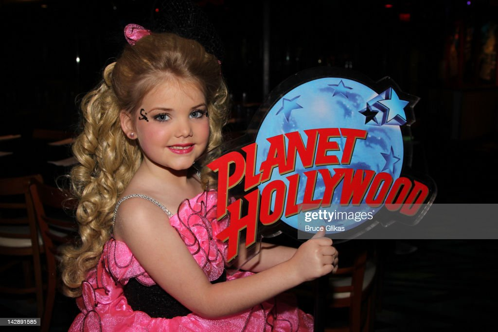 Eden Wood Visits Planet Hollywood Times Square