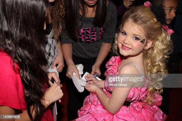 Eden Wood promotes Logo's 'Eden's World' as she visits Planet Hollywood Times Square on April 13 2012 in New York City