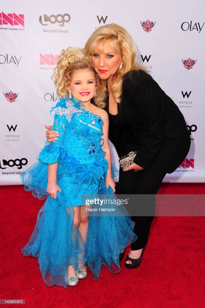 Eden Wood with her mother Mickie Wood attendsLogo's 'NewNowNext Awards' 2012 at Avalon on April 5, 2012 in Hollywood, California.