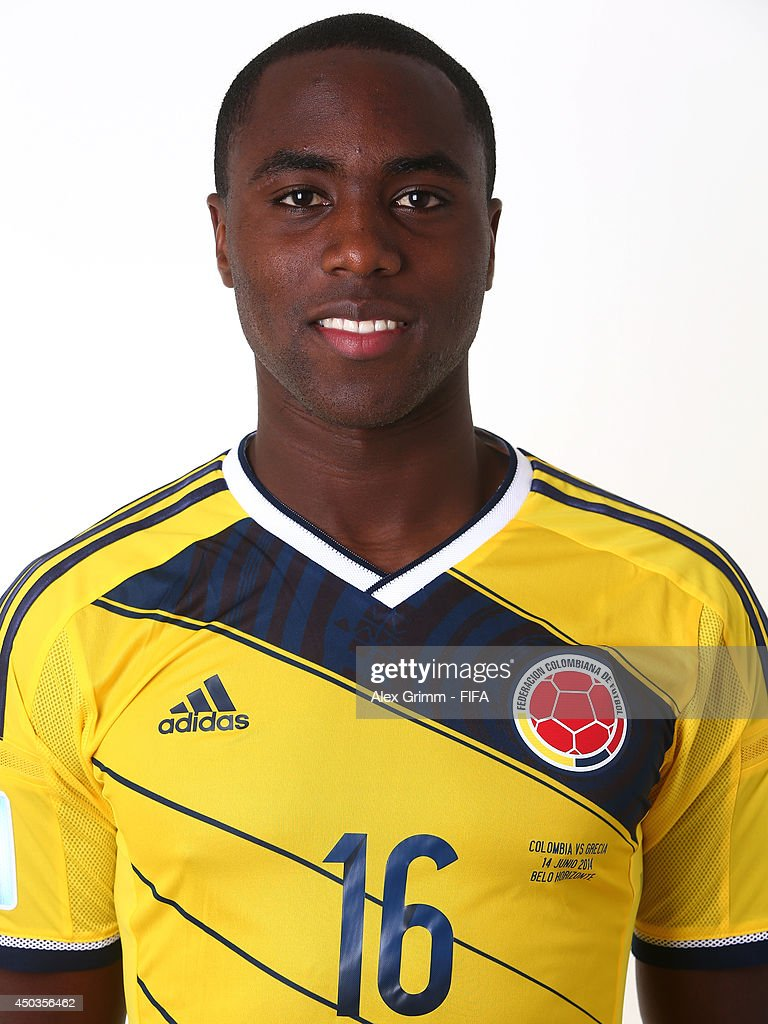 Eder Balanta of Colombia poses during the official FIFA World Cup 2014 portrait session on June 9, 2014 in Sao Paulo, Brazil.