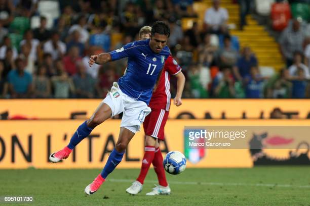 Eder Citadin Martins of Italy during the FIFA 2018 World Cup Qualifier match between Italy and Liechtenstein Italy went on to win the match 50