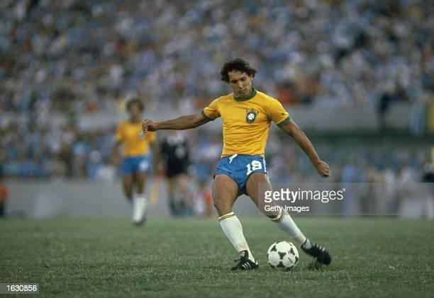 Eder of Brazil in action during a match Mandatory Credit Allsport UK /Allsport