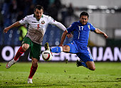 Eder of Italy during the Euro 2016 Qualifier match between Bulgaria and Italy at Vasil Levski National Stadium on March 28 2015 in Sofia Bulgaria