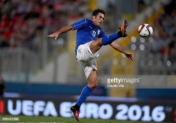 Eder of Italy in action during the international friendly between Italy and Scotland on May 29 2016 in Malta Malta
