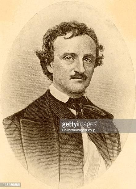 Edgar Allan Poe American story writer and poet born at Boston Massachusetts Author of Gothick stories of the macabre mysterious and weird