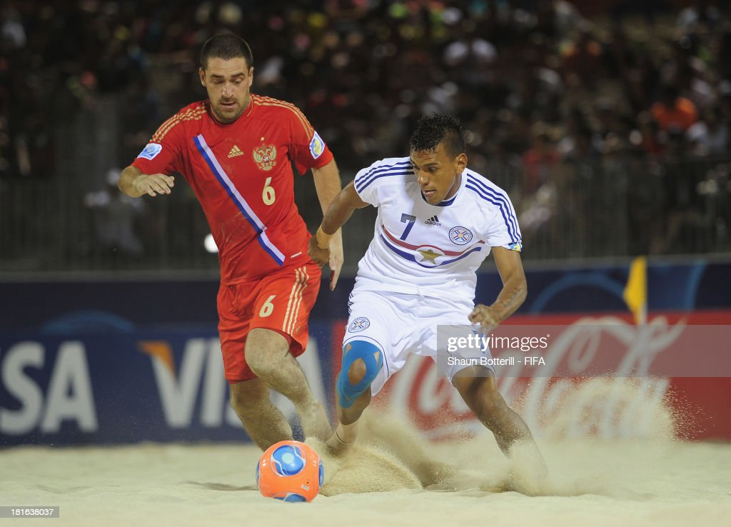 Russia v Paraguay: Group D - FIFA Beach Soccer World Cup