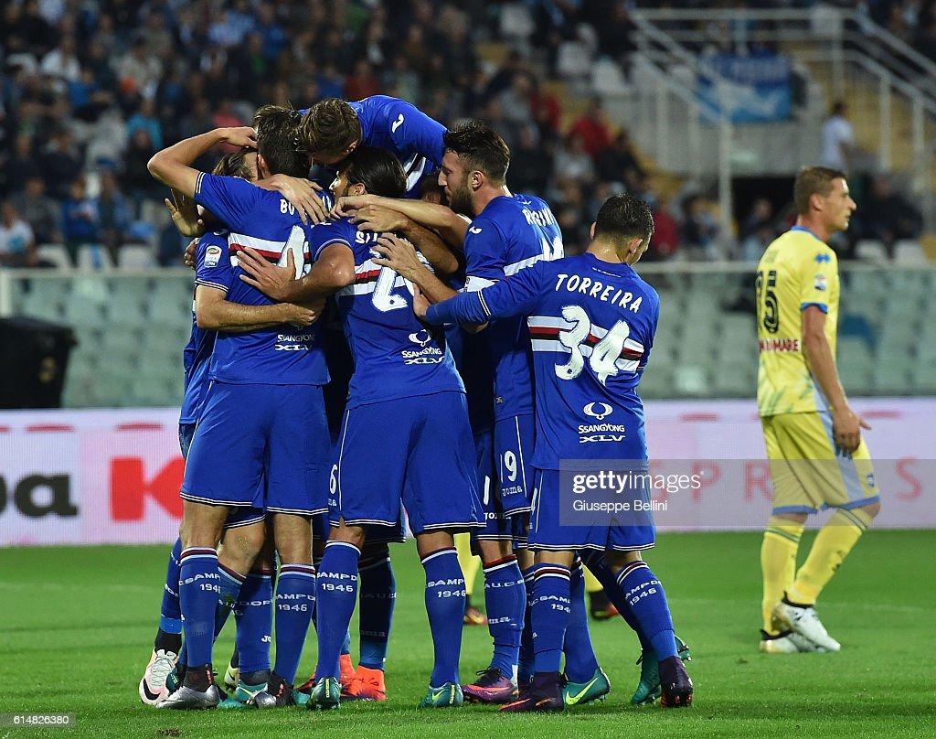 Pescara Calcio v UC Sampdoria - Serie A