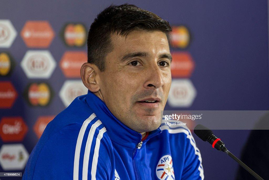 Paraguay Press Conference - 2015 Copa America Chile