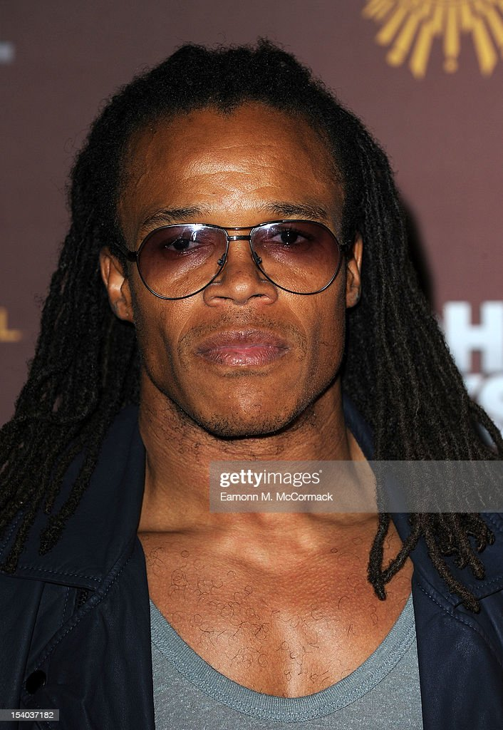 Edgar Davids attends the opening night of Cirque Du Soleil's 'Michael Jackson: The Immortal World Tour' at 02 Arena on October 12, 2012 in London, England.