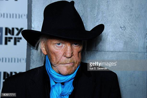 Edgar Froese of Tangerine Dream attends the The Music of Grand Theft Auto V Panel at Elinor Bunin Munroe Film Center on October 1 2013 in New York...