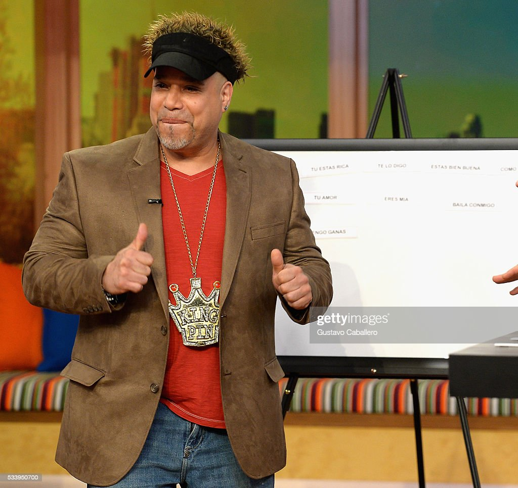 Edgar Garcia is on the set of Univision's 'Despierta America' at Univision Studios on May 24, 2016 in Miami, Florida.