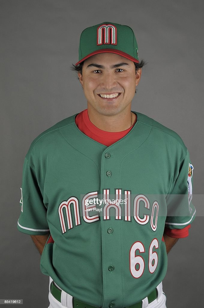 Edgar Gonzalez of team Mexico poses during a 2009 World Baseball Classic Photo Day on Monday, March 2, 2009 in Tucson, Arizona.