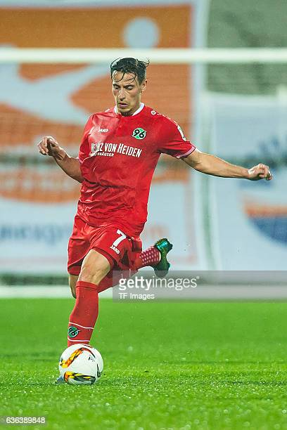 Edgar Prib of Hannover 96 in action during the Friendly Match between Hannover 96 and VfB Stuttgart at trainings camp on January 13 2016 in Belek...