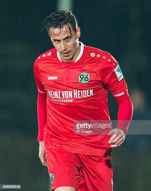 Edgar Prib of Hannover 96 looks on during the Friendly Match between Hannover 96 and Hertha BSC at Cornelia Sports Center on January 11 2016 in Belek...