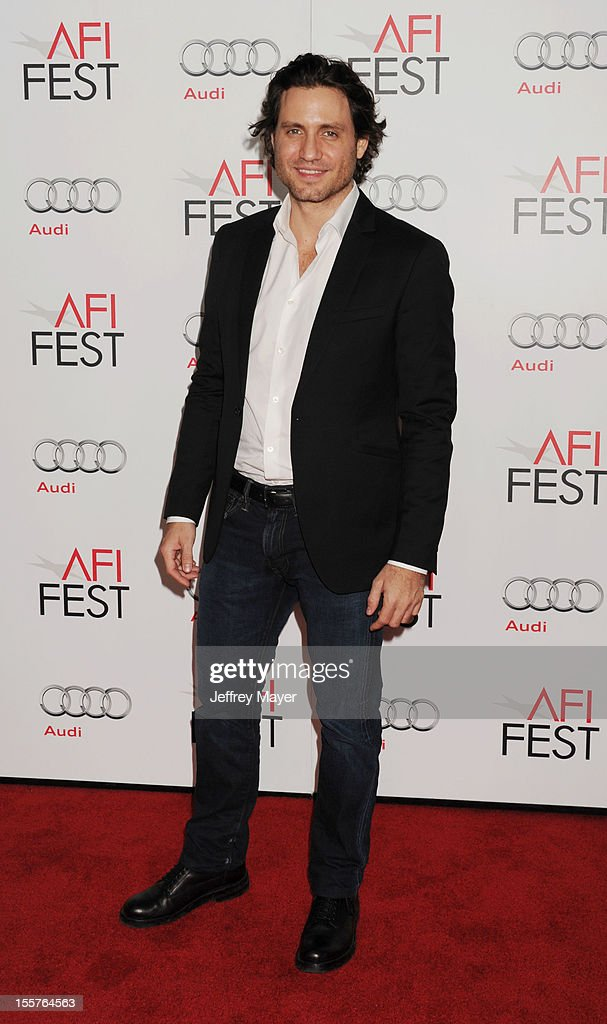 Edgar Ramirez arrives at the 'Zaytoun' special screening during AFI Fest 2012 at Grauman's Chinese Theatre on November 7, 2012 in Hollywood, California.