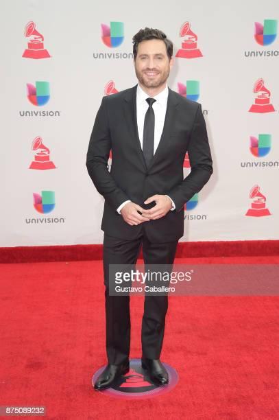 Edgar Ramirez attends the 18th Annual Latin Grammy Awards at MGM Grand Garden Arena on November 16 2017 in Las Vegas Nevada