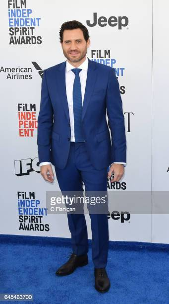 Edgar Ramirez attends the 2017 Film Independent Spirit Awards at the Santa Monica Pier on February 25 2017 in Santa Monica California