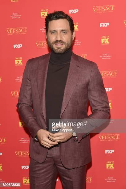 Edgar Ramirez attends 'The Assassination Of Gianni Versace American Crime Story' New York Screening at Metrograph on December 11 2017 in New York City