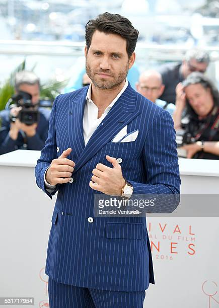 Edgar Ramirez attends the 'Hands Of Stone' photocall during the 69th annual Cannes Film Festival at the Palais des Festivals on May 16 2016 in Cannes...