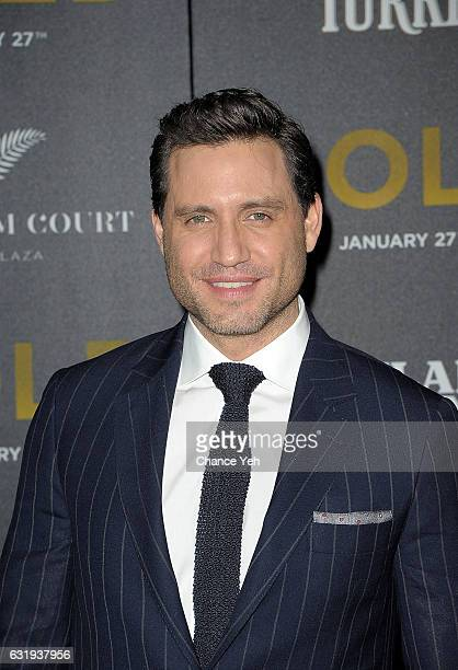 Edgar Ramirez attends the world premiere of 'Gold' hosted by TWCDimension at AMC Loews Lincoln Square 13 theater on January 17 2017 in New York City