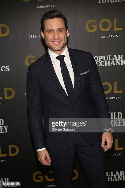 Edgar Ramirez attends TWCDimension with Popular Mechanics The Palm Court Wild Turkey Bourbon Host the Premiere of 'Gold' at AMC Loews Lincoln Square...