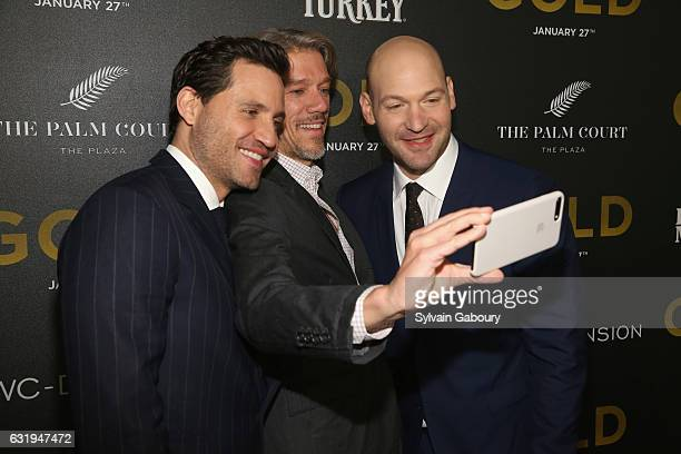 Edgar Ramirez Stephen Gaghan and Corey Stoll attend TWCDimension with Popular Mechanics The Palm Court Wild Turkey Bourbon Host the Premiere of...