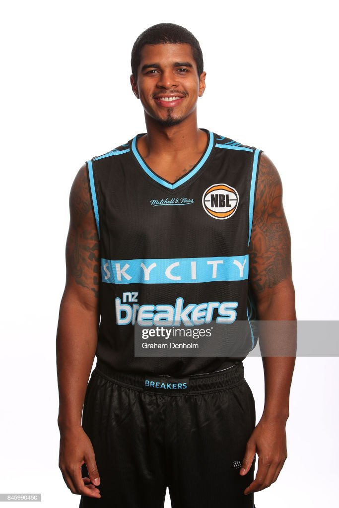 Edgar Sosa of the New Zealand Breakers poses during the 2017/18 NBL Media Day at Crown Entertainment Complex on September 11, 2017 in Melbourne, Australia.