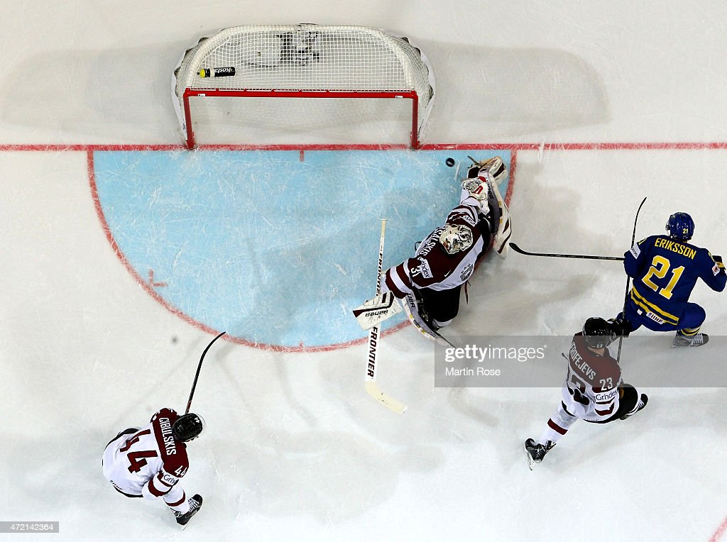 Latvia v Sweden - 2015 IIHF Ice Hockey World Championship