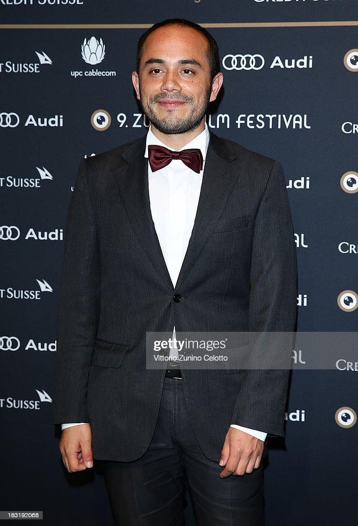Edher Campos attends the Zurich Film Festival 2013 award night on October 5, 2013 in Zurich, Switzerland.