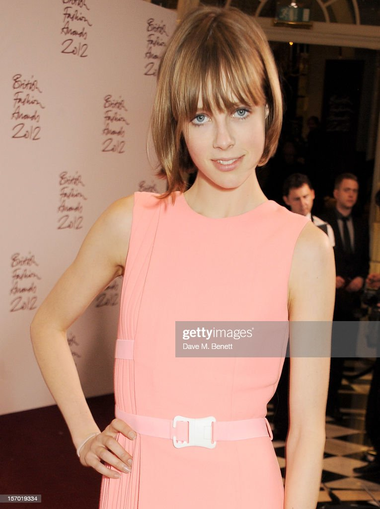 Edie Campbell attends a drinks reception at the British Fashion Awards 2012 at The Savoy Hotel on November 27, 2012 in London, England.