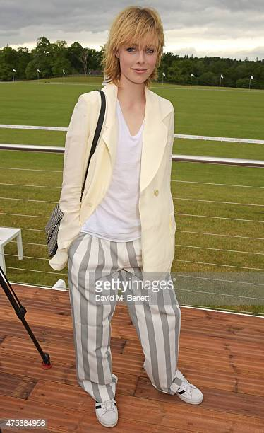 Edie Campbell attends day two of the Audi Polo Challenge at Coworth Park on May 31 2015 in London England