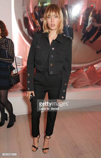 Edie Campbell attends Tatler's English Roses an event celebrating up and coming British girls hosted by Kate Reardon and Michael Kors at the Saatchi...