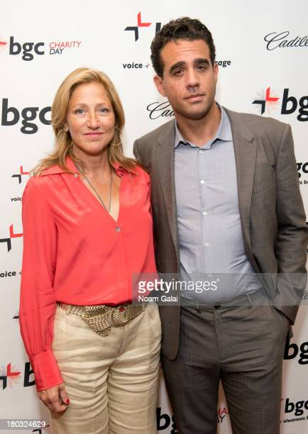 Edie Falco and Bobby Cannavale attends Cantor Fitzgerald And BGC Partners Annual Charity Day at BGC Partners INC on September 11 2013 in New York City