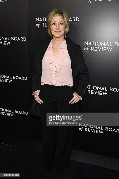 Edie Falco attends the 2016 National Board of Review Gala at Cipriani 42nd Street on January 4 2017 in New York City