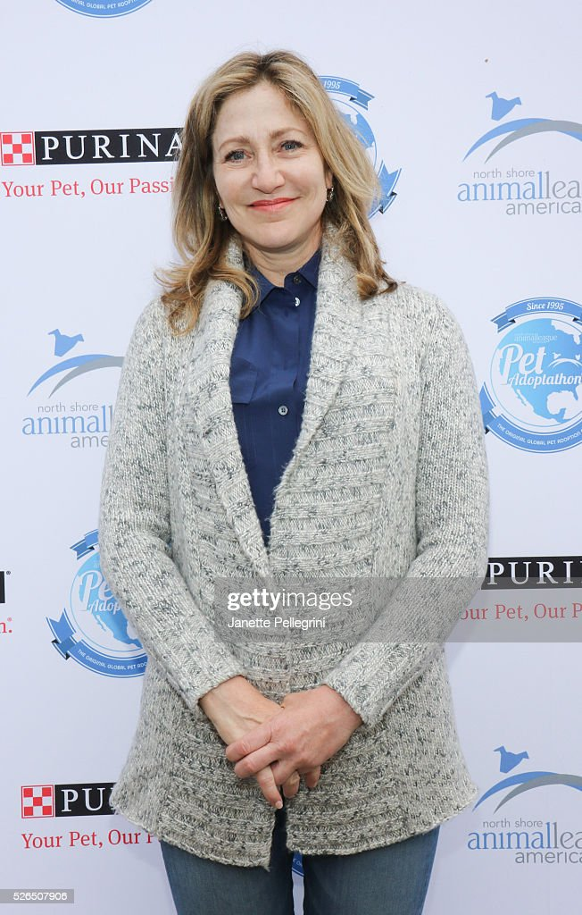 Edie Falco attends the 22nd Annual Global Pet Adoption Event at North Shore Animal League America on April 30, 2016 in Port Washington, New York.