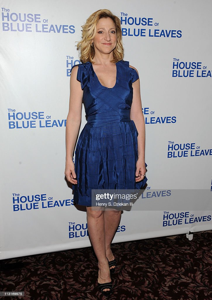 Edie Falco attends the after party for the Broadway opening night of 'The House of Blue Leaves' at Sardi's on April 25 2011 in New York City