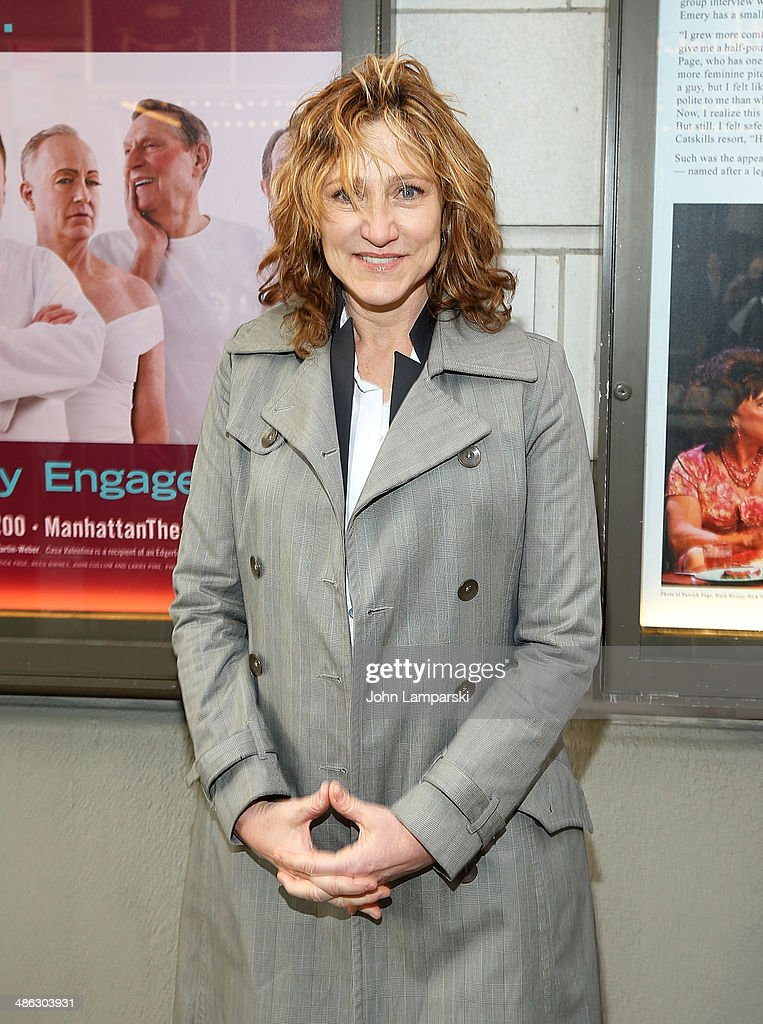 <a gi-track='captionPersonalityLinkClicked' href=/galleries/search?phrase=Edie+Falco&family=editorial&specificpeople=202111 ng-click='$event.stopPropagation()'>Edie Falco</a> attends the Broadway opening night for 'Casa Valentina' at Samuel J. Friedman Theatre on April 23, 2014 in New York City.