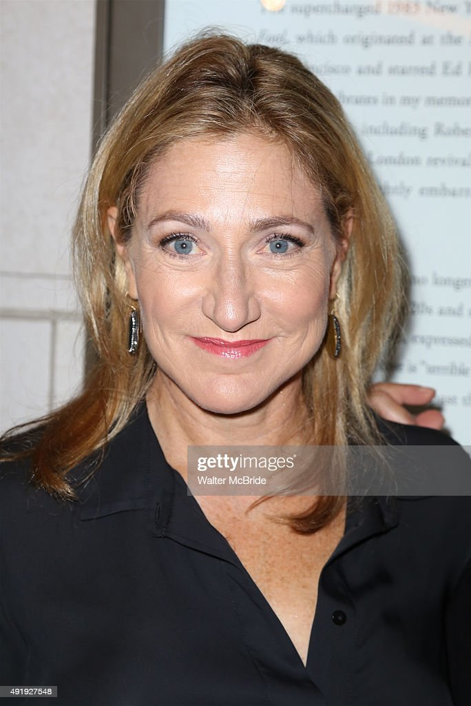 Edie Falco attends the Broadway Opening Night performance of 'Fool For Love' at the Samuel J Friedman Theatre on October 8 2015 in New York City