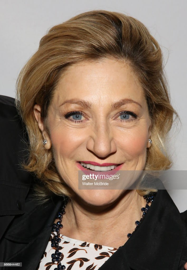 Edie Falco attends the Broadway Opening Night performance of 'M. Butterfly' on October 26, 2017 at Cort Theater in New York City.