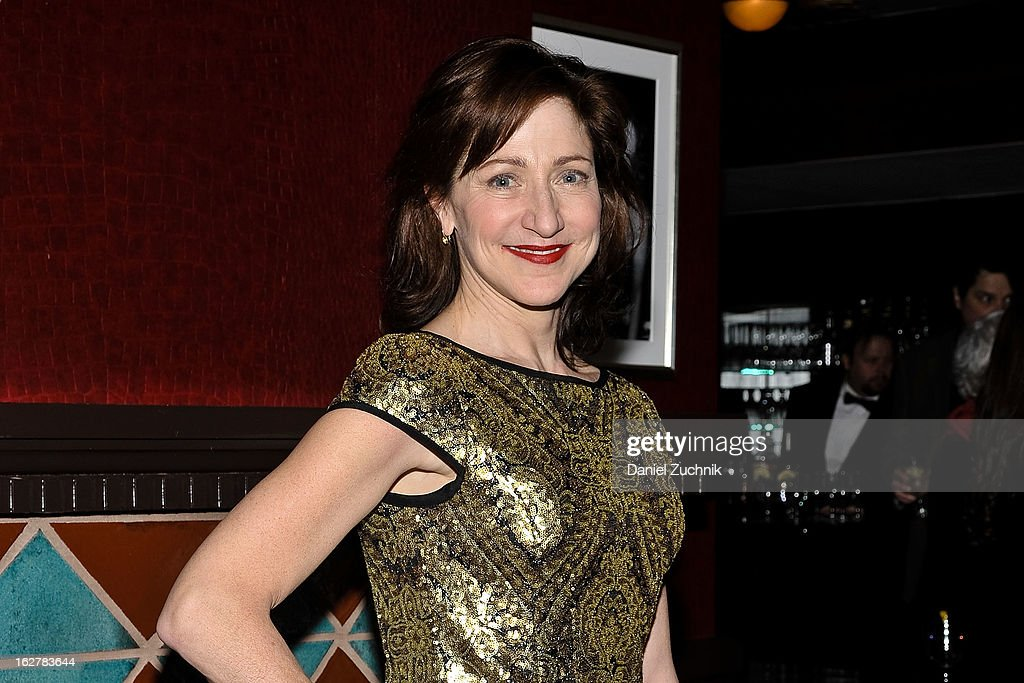 <a gi-track='captionPersonalityLinkClicked' href=/galleries/search?phrase=Edie+Falco&family=editorial&specificpeople=202111 ng-click='$event.stopPropagation()'>Edie Falco</a> attends 'The Madrid' opening night party at Red Eye Grill on February 26, 2013 in New York City.