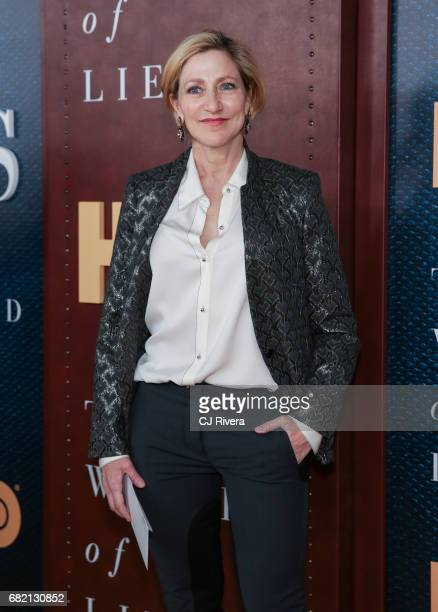 Edie Falco attends 'The Wizard of Lies' New York Premiere at The Museum of Modern Art on May 11 2017 in New York City