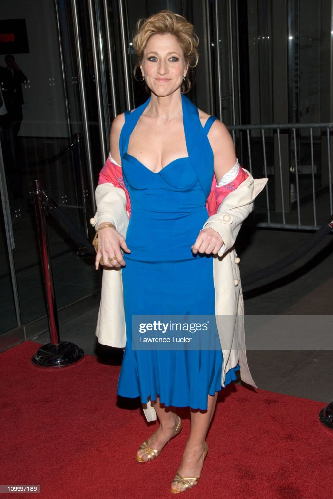 Edie Falco during The Sopranos Sixth Season New York City Premiere - Outside Arrivals at Museum of Modern Art in New York City, New York, United States.