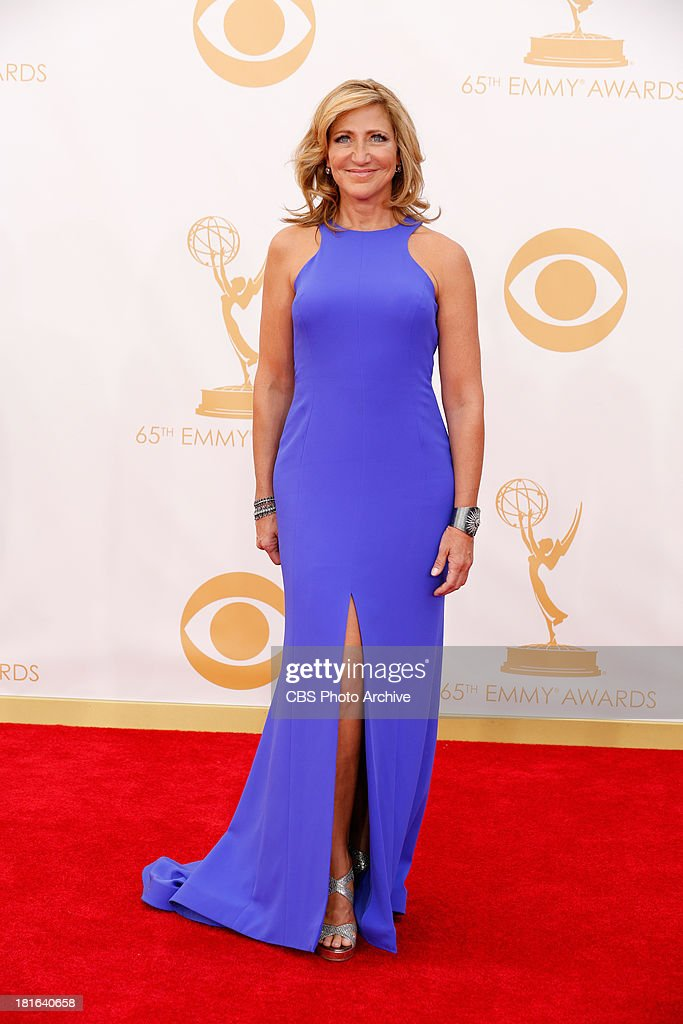 <a gi-track='captionPersonalityLinkClicked' href=/galleries/search?phrase=Edie+Falco&family=editorial&specificpeople=202111 ng-click='$event.stopPropagation()'>Edie Falco</a> on the Red Carpet for the 65th Primetime Emmy Awards, which will be broadcast live across the country 8:00-11:00 PM ET/ 5:00-8:00 PM PT from NOKIA Theater L.A. LIVE in Los Angeles, Calif., on Sunday, Sept. 22 on the CBS Television Network.